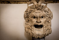 Gothic Satan Head