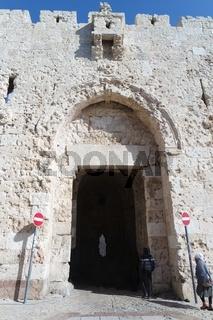 Zionstor in Jerusalem, Israel