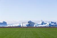 Soccer Field in Qeqertarsuaq, Greenland