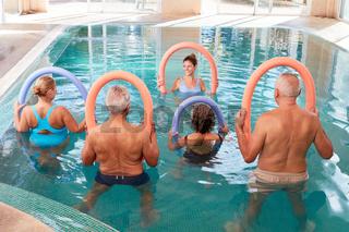 Rückengymnastik Kurs in der Reha