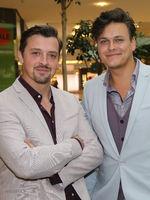 Duo GOLDMEISTER bei ihrer Promotour am 22.06.2018 in Magdeburg