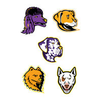 Dog Heads Mascot Collection
