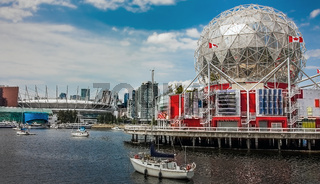 Skyline of Vancouver Canada on June 06, 2018
