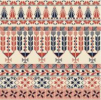 Palestinian embroidery pattern 21