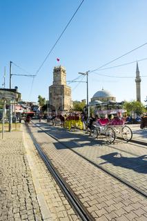 Horse Carriage Tekeli Mehmet Pasa Mosque Antalya V