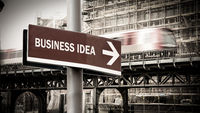 Street Sign to Business Idea