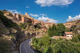 Albarracin, medieval village in teruel, Spain.