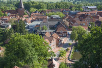 Blick vom Bismarckturm auf Lütjenburg