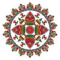 Hungarian folk motif 8