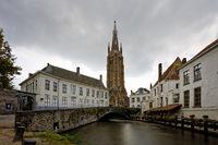 Old town of Bruges.