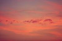 a beautiful sky at sunset