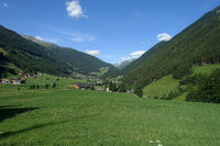 Wiesen bei Sankt Jakob im Tauferer Ahrntal, Südtirol