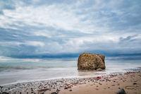 Steine an der Ostseeküste bei Meschendorf