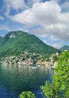 Urlaubsort Colonno am Comer See,Lombardei,Italien