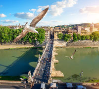 Tiber in Rome