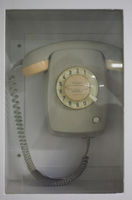 Feuer Notruf (meaning fire emergency call) telephone
