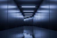 A typical underground corridor background