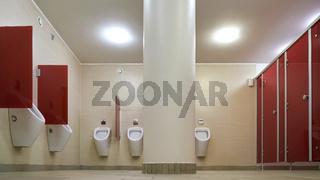 öffentliche saubere Toilette