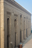 Side facade of Al Rifai historical mosque, Cairo, Egypt