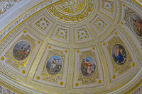 Ceiling Paintings, The Pavilion Hall, The Hermitage St. Petersburg Russia