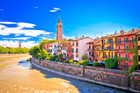 City of Verona Adige riverfront view