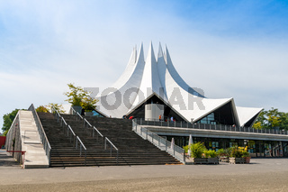 The Berlin tempodrom near the  Anhalter Banhof, Berlin
