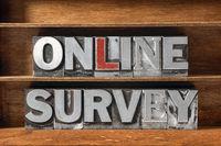 online survey tray