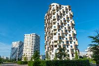 Moderne Wohnhochhäuser in München