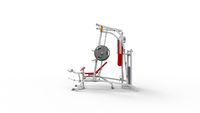3d rendering of a fitness equipment isolated in white background