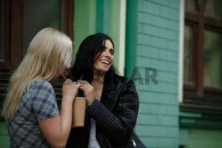 Lesbian couple spending time