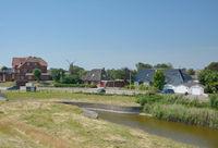 Suederhafen auf dem Nordseeheilbad Nordstrand,Nordsee,Nordfriesland,Schleswig-Holstein,Deutschland
