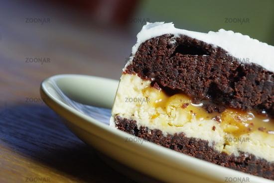 Foto Vegane Snickers Torte Bild 12445009