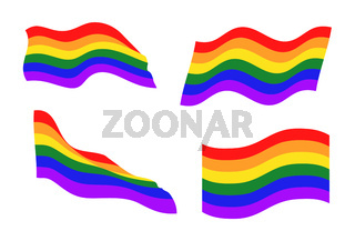 LGBT community flags