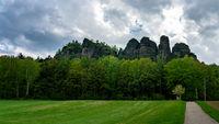 Weg zum Pfaffenstein