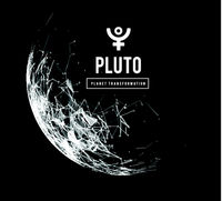 Pluto, the planet responsible in astrology for the transformation, rebirth, the collective energy of the masses. Vector illustration