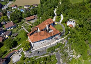 Schloss Laupen, Laupen, Kanton Bern, Schweiz