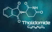 Chemical formula of Thalidomide
