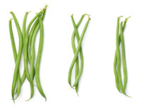 Green Beans Isolated on White Background