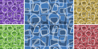 Abstract background set. Vector illustration