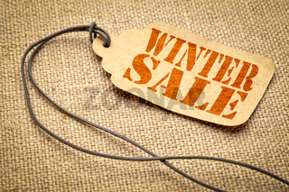 winter sale price tag