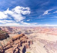 South rim of Grand Canyon