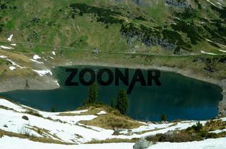Formarinsee im Lechquellengebirge, Vorarlberg, Österreich