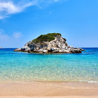 Beautiful beach landscape, Sithonia, Greece
