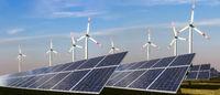 Photovoltaik und Windkraft