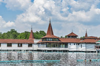 Thermalsee Heviz, Ungarn | Thermal lake Heviz, Hungary