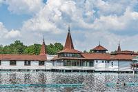 Thermalsee Heviz, Ungarn | Thermal lake Heviz, Hungary