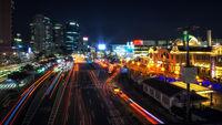 seoul station night view