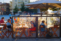 People restaurant Old Town Porto