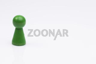 Grüne Spielfigur