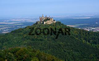 Burg Hohenzollern, Deutschland, Baden Württemberg, Schwäbische Alb